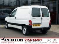 Citroen Berlingo 1.6 HDi Panel Van 3dr - LOCAL VAN - LOW MILEAGE!