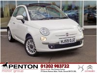 Fiat 500 1.4 16v Lounge 2dr CONVERTIBLE - SMART COLOUR