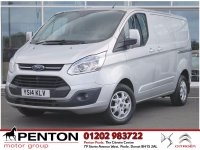 Ford Transit Custom 2.2 TDCi 270 L1H1 Limited Panel Van 3dr - 125 hp - AIR CON - ALLOYS!