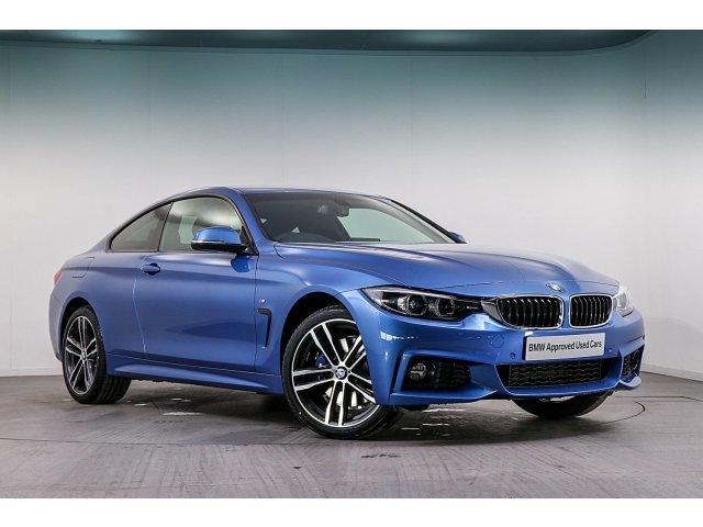 BMW 4 Series 420i M Sport 2dr Auto [Professional Media]