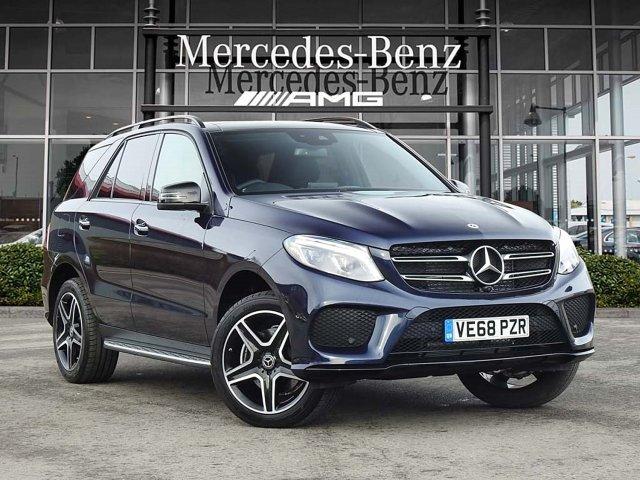 Mercedes-Benz Gle GLE 350d 4Matic AMG Night Ed Prem + 5dr 9G-Tronic