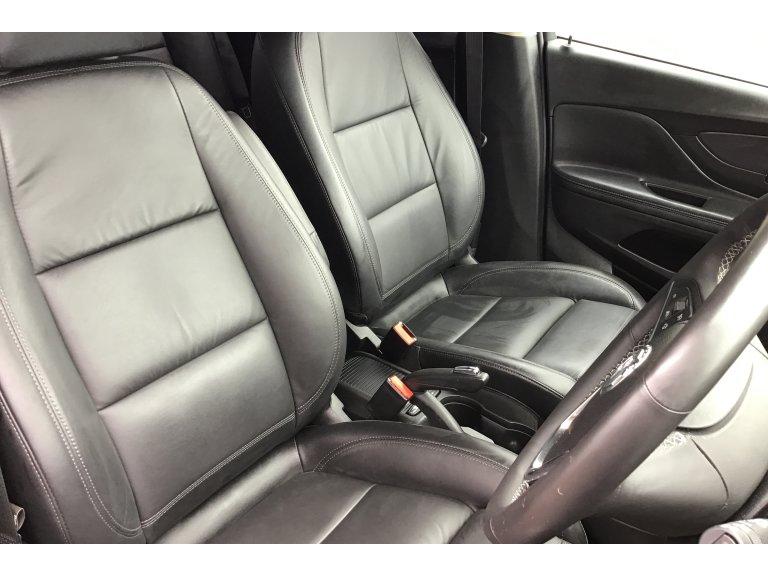 UKB4C Black Full Set Front /& Rear Car Seat Covers for Mokka 12-On