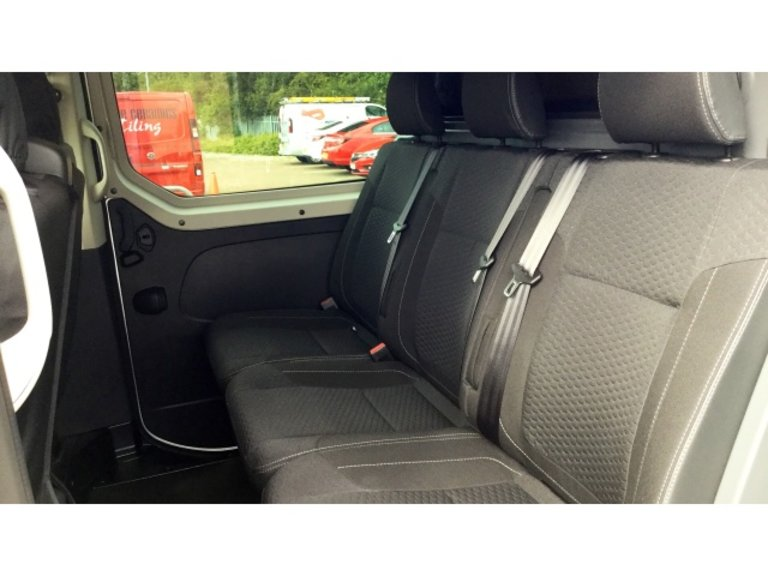For Vauxhall Vivaro Movano 2+1 Red Light Fabric Seat Covers